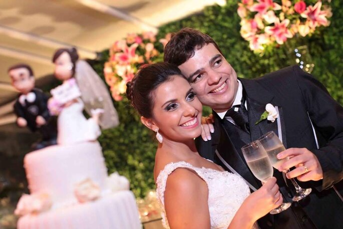 Os noivos devem deixar bem claro suas intenções e desejos para construir uma festa perfeita