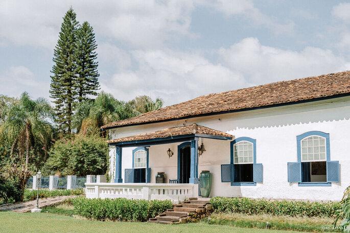 Casarão construído em 1746 é a Casa Sede da Fazenda Fagundes