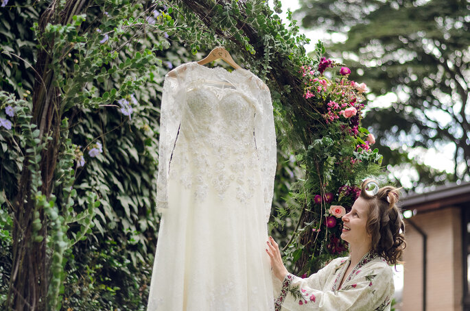 Vestido de noiva: Luluza Ateliê   Foto: Pri Martins e Tiago Silva