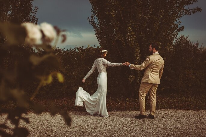 Joel and Justyna Bedford Wedding Photograph