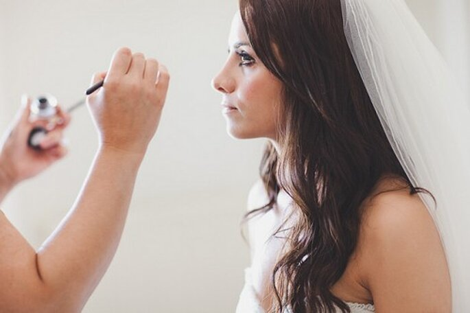 Maquillage de mariée : attention à ne pas trop en faire... - Photo : Albert Palmer