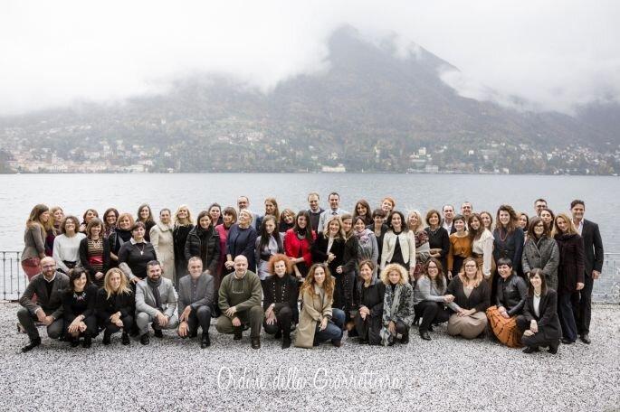 Wedding Club Lago di Como, novembre 2016. Foto: Ordine della Giarrettiera