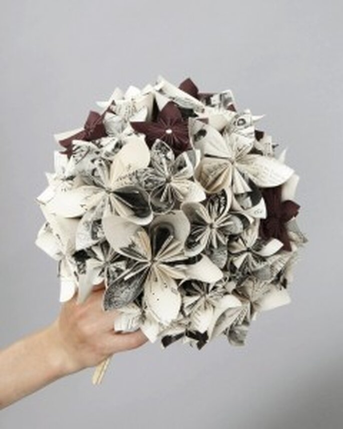 Kunstwerk aus Papier