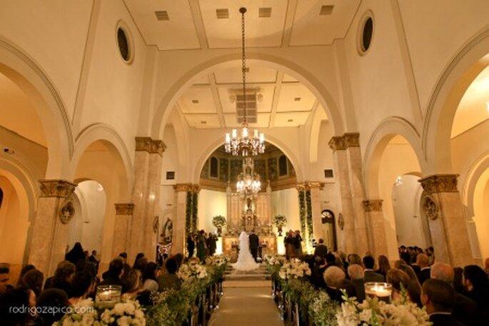 quanto custa decoração de igreja para casamentos em Santo André