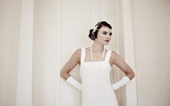 Lindsay Fleming propose une gamme de robes parfaites pour un thème années 20