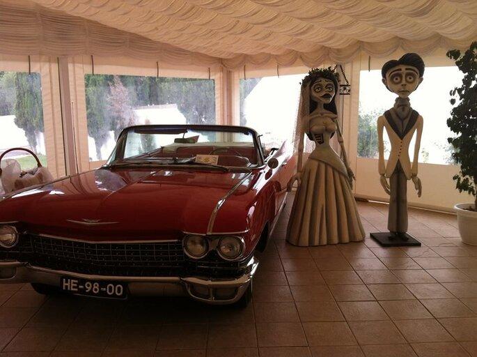 Representação dos noivos
