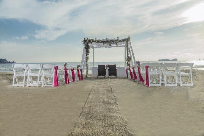 Gazebo para bodas en Ixtapa