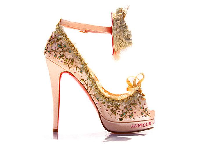 christian louboutin chaussures de mariée 2012
