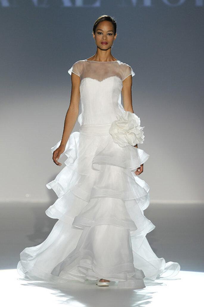 Vestido de noiva folhos - Cymbeline 2012
