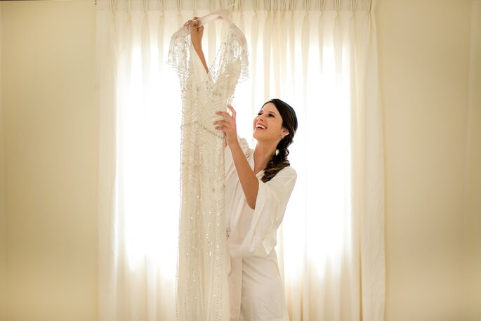 1a8c3740a Cómo escoger el vestido de novia para la ceremonia civil