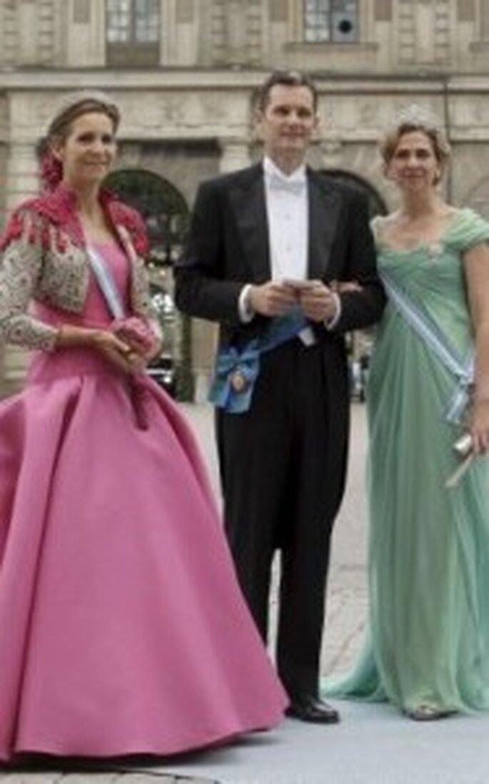 La Infanta Elena y los Duques de Palma