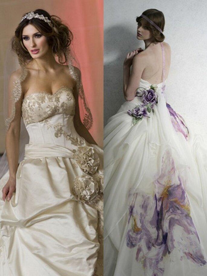Robes de mariée Bocci et Atelier Aimee