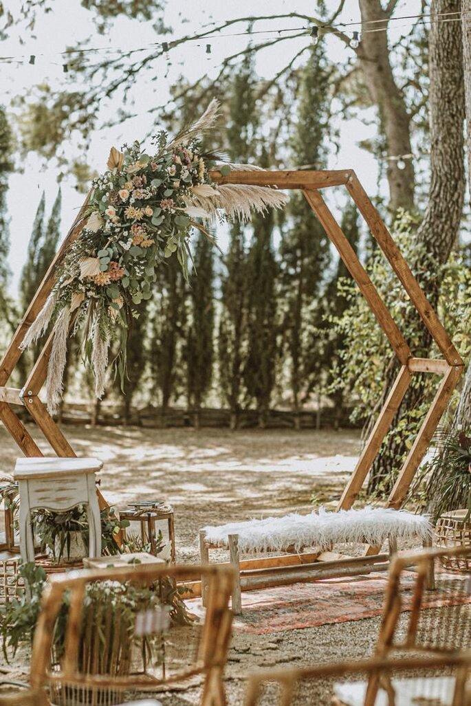 Boheme Sensations decoración bodas Valencia