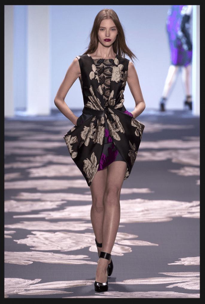 Vestido usado por Selena Gómez en la premiere de Getaway - Foto Vera Wang