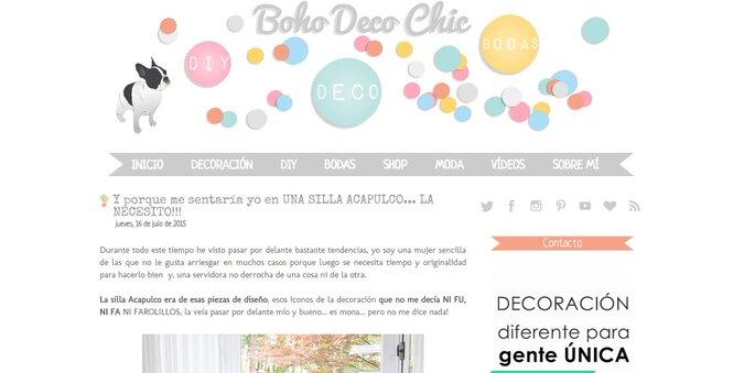 Blog Boho Deco Chic