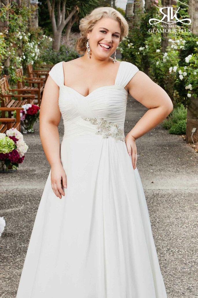 Vestidos de novia para chicas de talla grande - Roz La Kelin