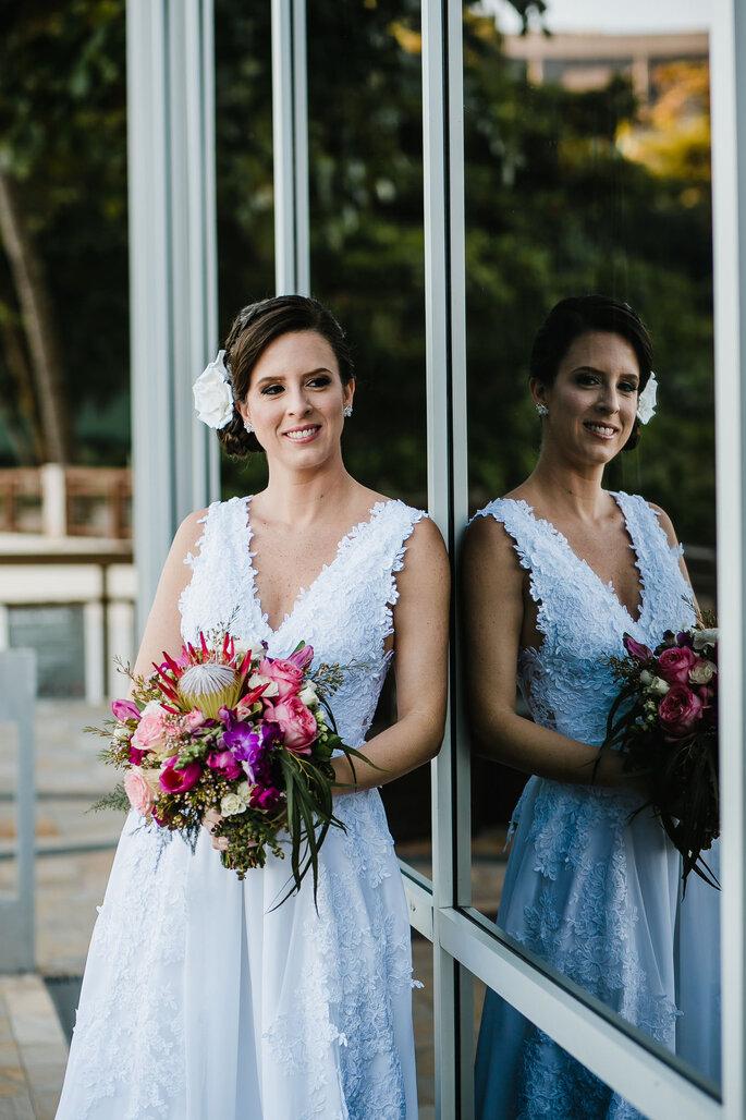 Vestido de noiva para praia