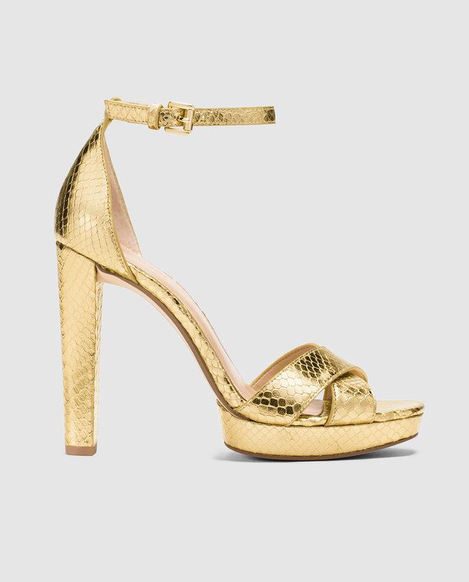 Zapatos de novia. Credits: Michael Kors
