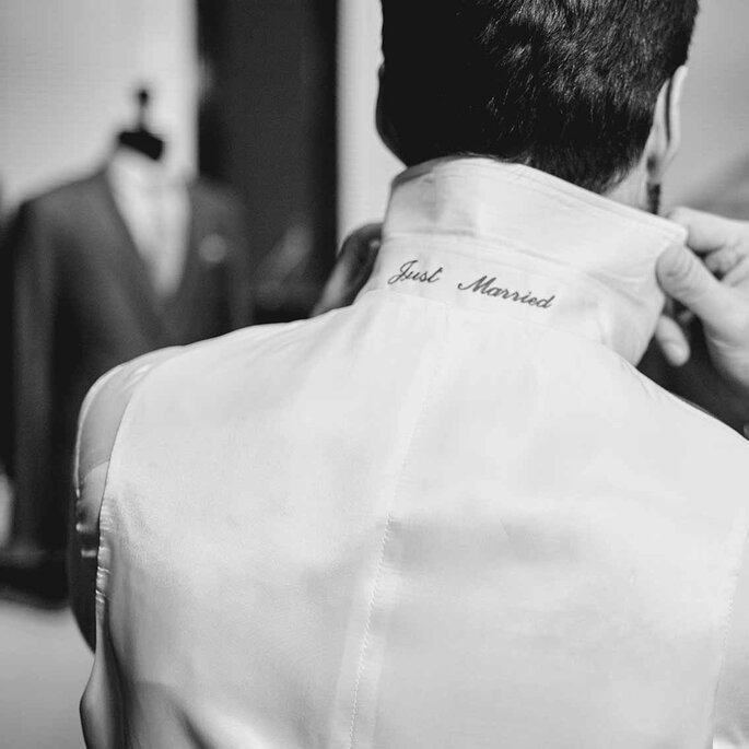 Alferano Hochzeitshemd