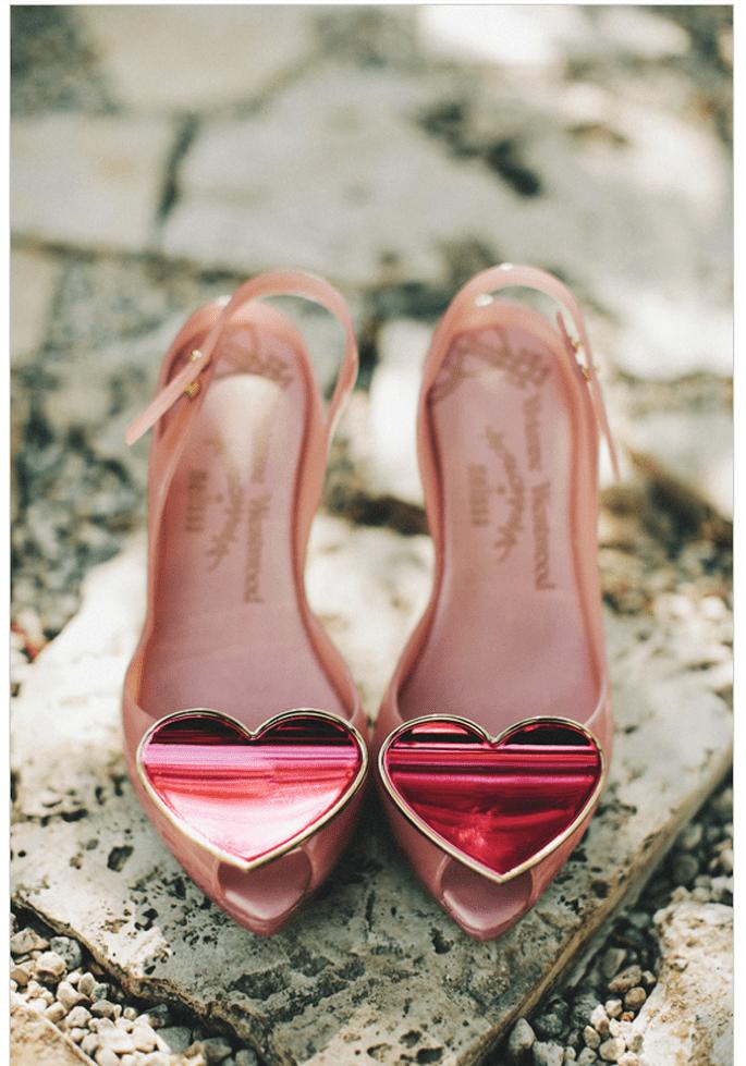 Presume tus increíbles zapatos de novia en unas lindas fotos - Foto Hugh Forte
