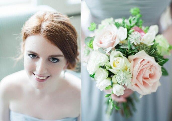 El azul polveado en la decoración de tu boda - Foto Taylor Barnes Photography1