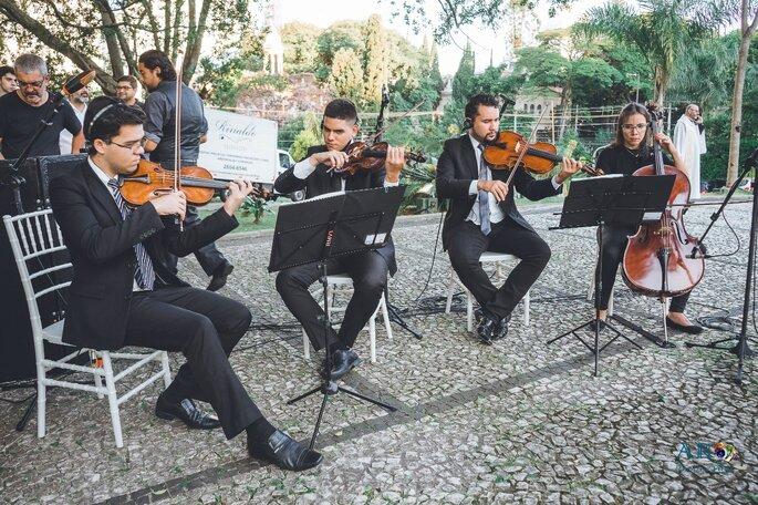músicos de casamento