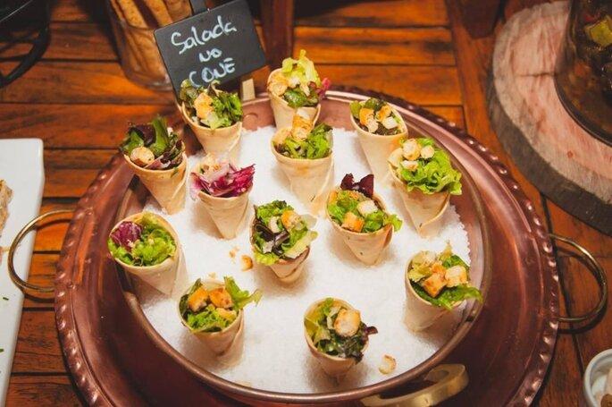 Salada para casamentos