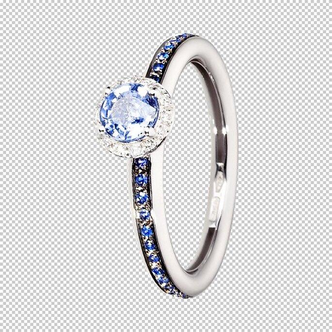 Sch ne verlobungsringe von ren sim - Verlobungsring blau ...
