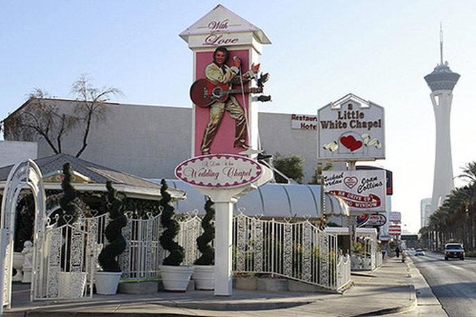 Little White Chapel, en Las Vegas. Foto: Vacaciona Viajes
