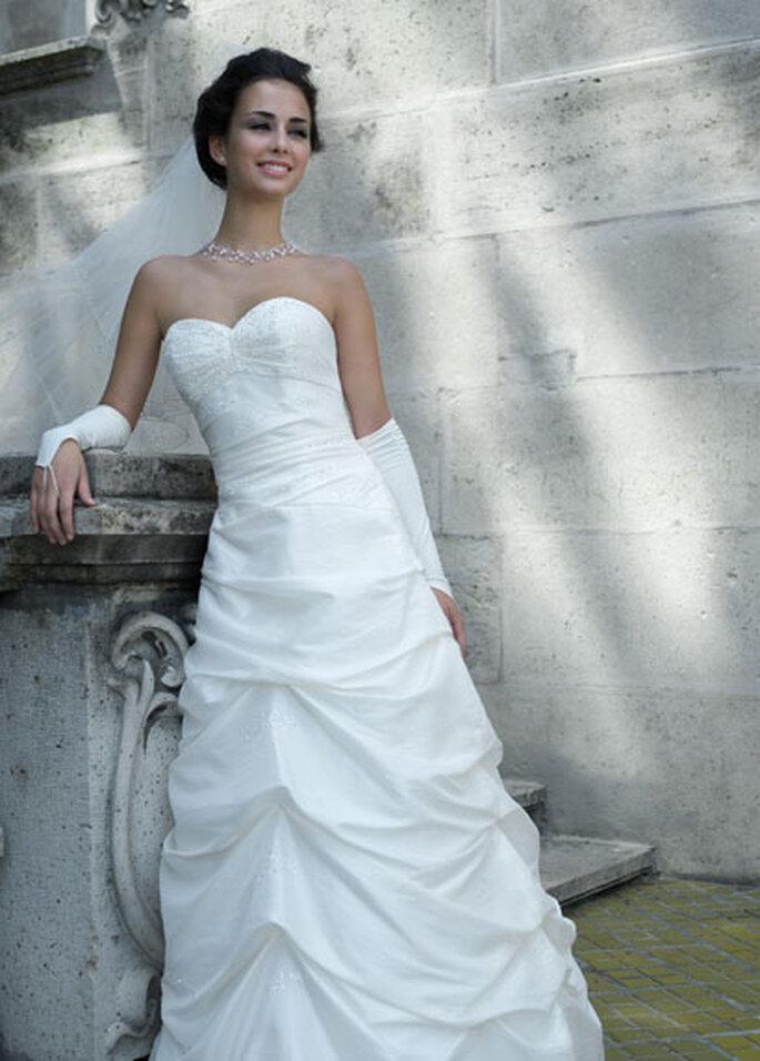 35dc26b95dd Sélection 2010 des robes de mariée blanches