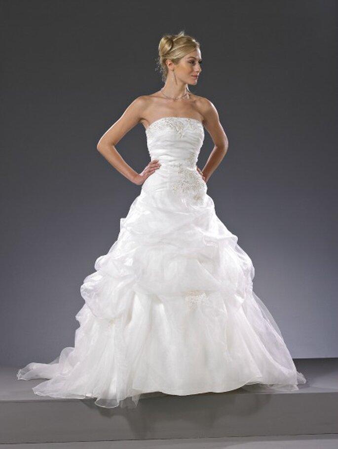 Robe de mariée Christine Couture 2013, modèle Baccarat