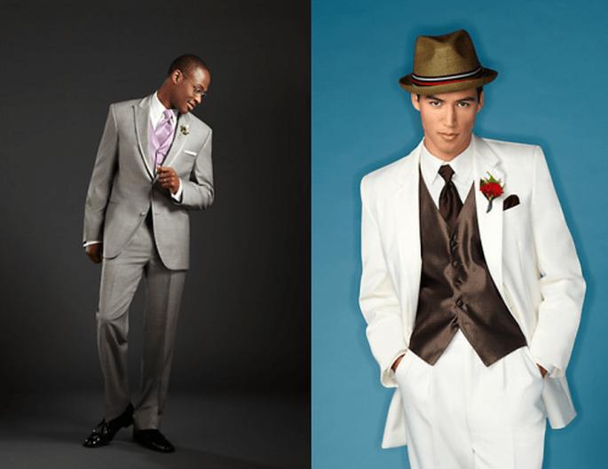 Trajes y esmoquin para novio con estilo cómodo y casual - Foto Men`s Wearhouse