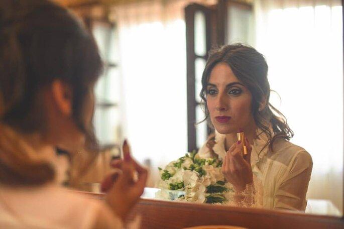 Maquillaje de María Bernabeu Maquillaje Profesional. Foto Sergio Trabanco