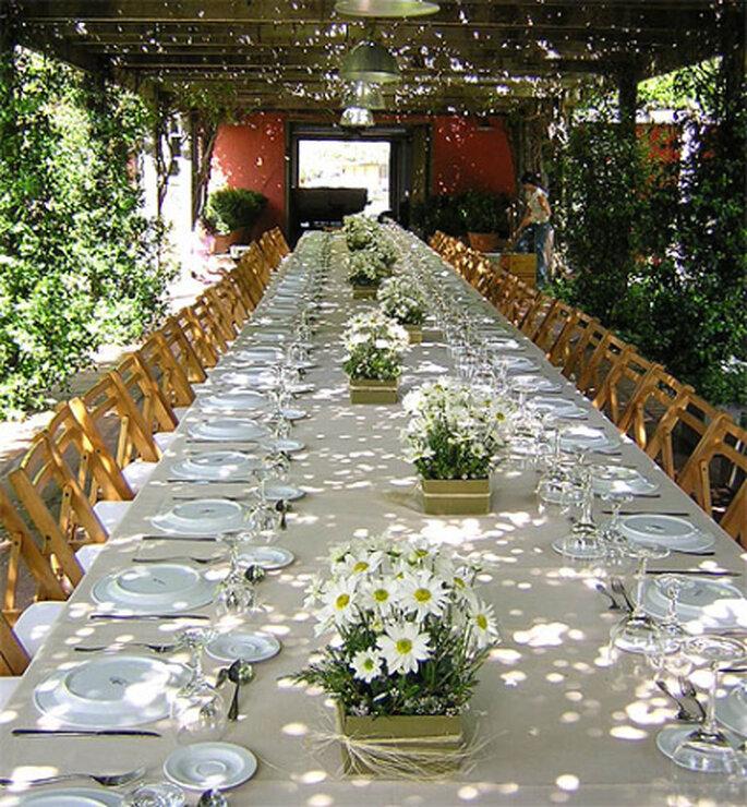 Decoracion Iglesia Para Primera Comunion ~ Centro de mesa floral www lymflores com ar