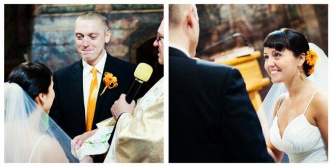 ślub koloru pomarańczowego
