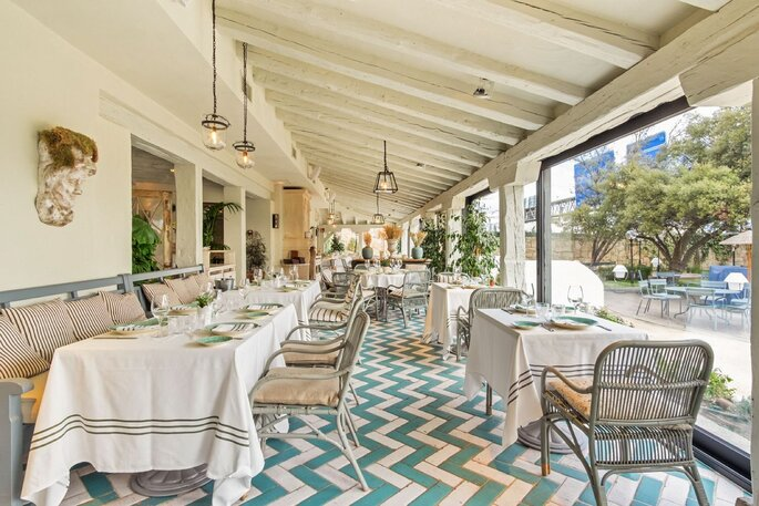 El Jardín de la Máquina restaurante bodas Madrid