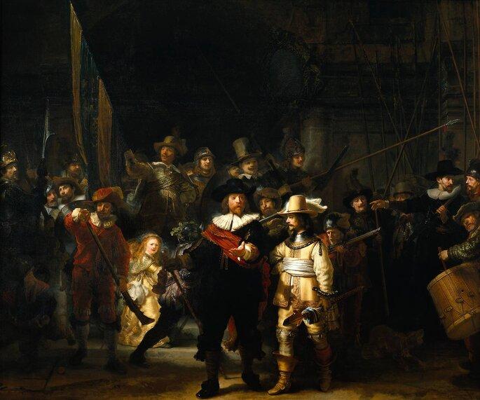 La ronda de noche - Rembrandt