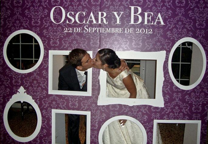 Photocall banquetes foro for Fotocol de bodas