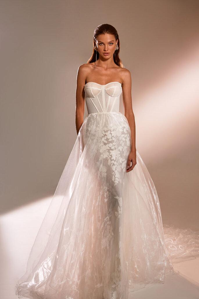 Vestidos de novia con escote corazón