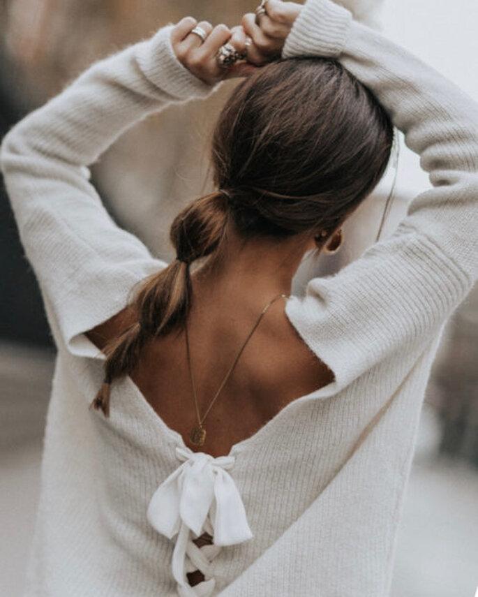 trança bolha penteado