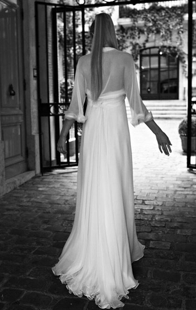 Collection de robes de mariée Amarildine 2011 - Adélais : robe en mousseline