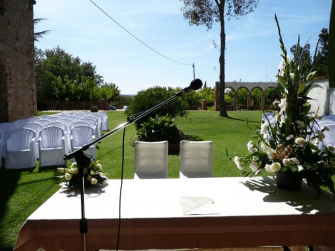 Masía catalana Can Tarranc para tu boda en la Costa Brava