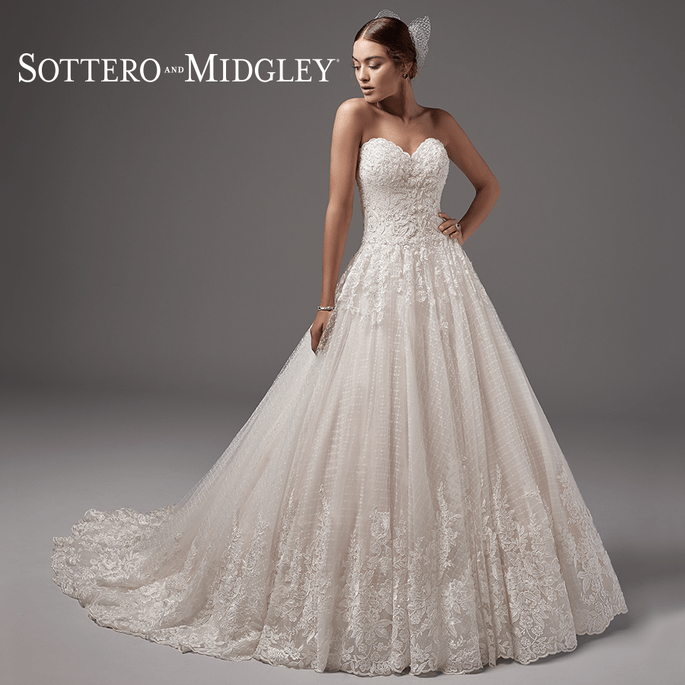 Jewel. Sottero and Midgley: Coleção Arleigh