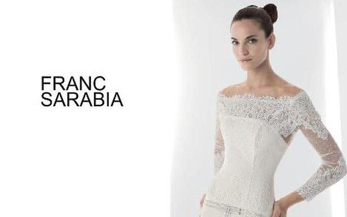 Colección de vestidos de novia Franc Sarabia 2010