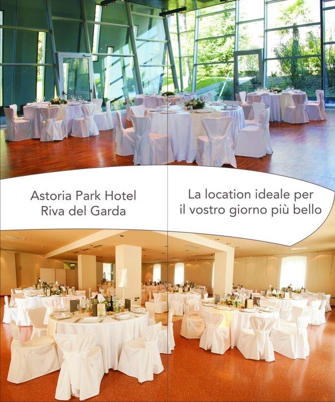 Una location da sogno: Astoria Park Hotel, Riva del Garda