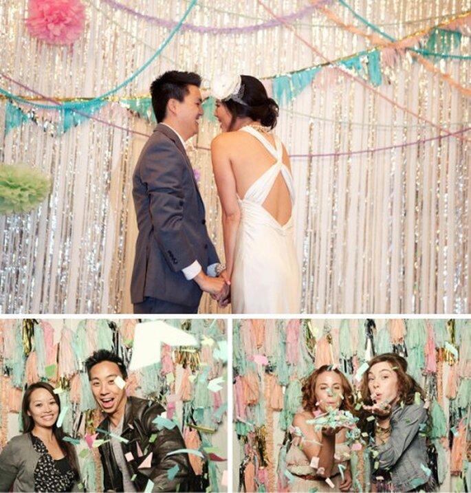 Neuer Foto-Trend für Hochzeiten: Photobooth – Foto: Raya Carlisle