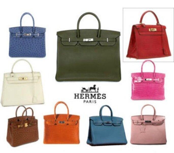 La Birkin di Hermès in 9 varianti di colori, difficile scegliere!