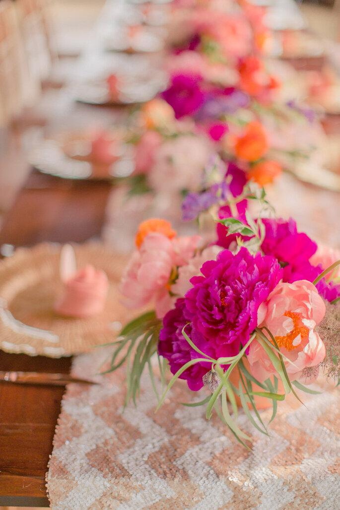 Chevron en la decoración de tu boda - Nbarrett Photography