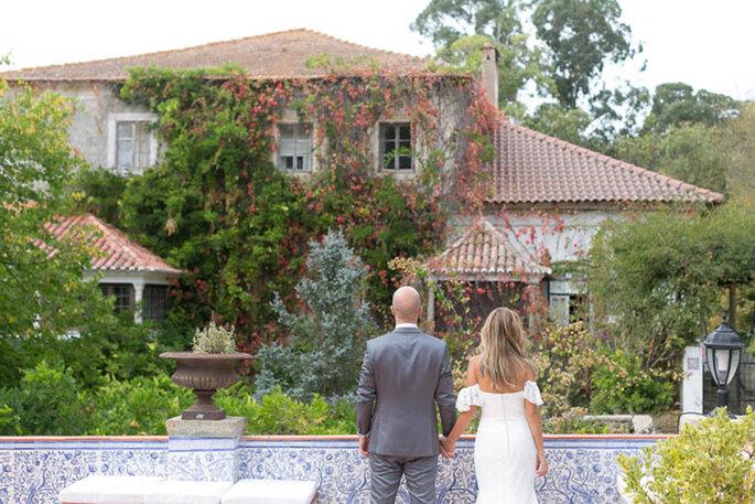 Casamento numa quinta