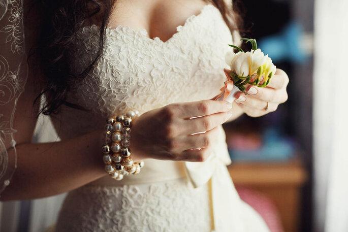 Vestido de noiva rendado